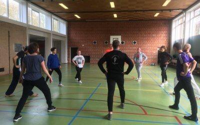 Workshop wereldkampioen kickboksen Sarèl de Jong